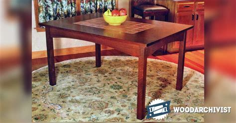 kitchen table woodworking plans kitchen table plans woodarchivist