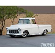 1955 Chevrolet Cameo Pickup Hotrod Pictures +1955 Chevy