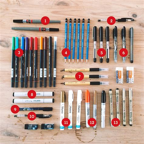 design clothes tools lost type blog field trip drawing tools hand lettering