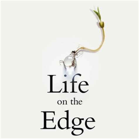 living on the edge of a breakthrough books royal society winton prize for science books royal society