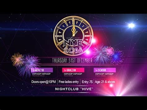 Happy New Year Flyer After Effects Template Youtube Animated Flyer Templates