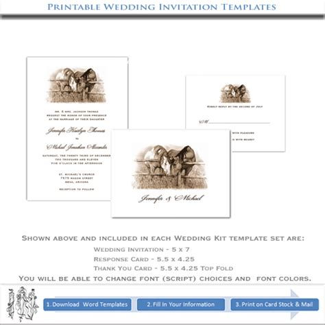 western wedding invitations templates cowboy invitation template printable country western wedding