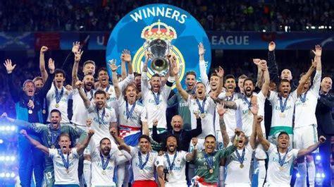 daftar  klub sepak bola  gelar juara liga champions