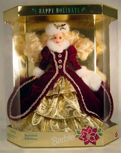 happy holidays barbie  barbie christmas ornaments happy holidays barbie christmas barbie