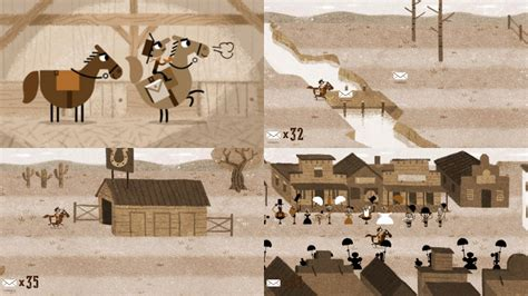 play doodle pony express doodle marks pony express 155th anniversary with a