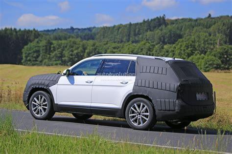 volkswagen 7 passenger suv 2017 volkswagen 7 seater us market suv spied testing its
