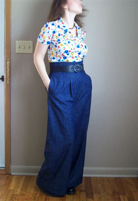 sewing pattern wide leg pants the perfect pair of wide leg pants sewing projects