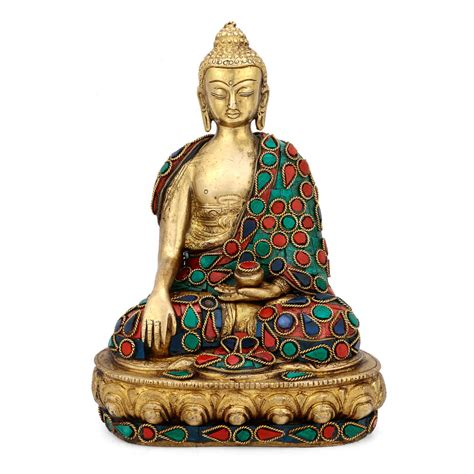 statues for home decor earth touching buddha statue brass tibetan bhumisparsha