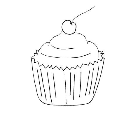 printable cupcake stencils cupcake stencil pictures to pin on pinterest pinsdaddy