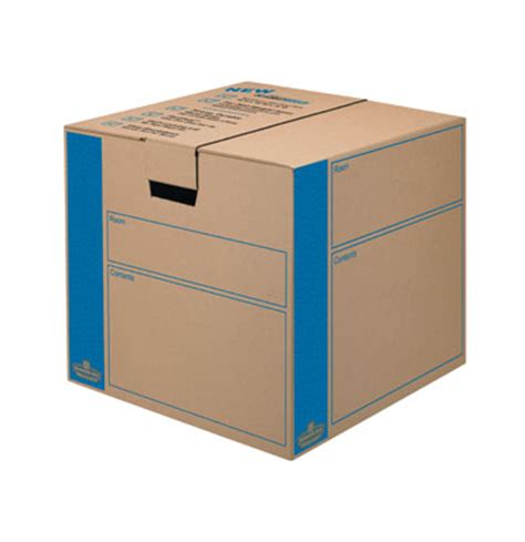 How To Assemble Wardrobe Boxes by Bankers Box Smoothmove Prime Moving Boxes Free And