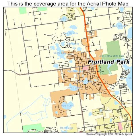 map of fruitland park florida aerial photography map of fruitland park fl florida