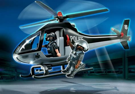 playmobil set 5975 tactical unit helicopter