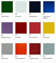 fender color chart fender 174 forums view topic color discrepancy