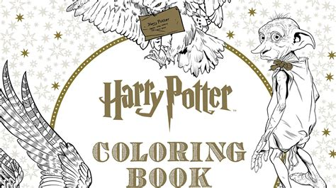 harry potter coloring book official harry potter s getting an official colouring book