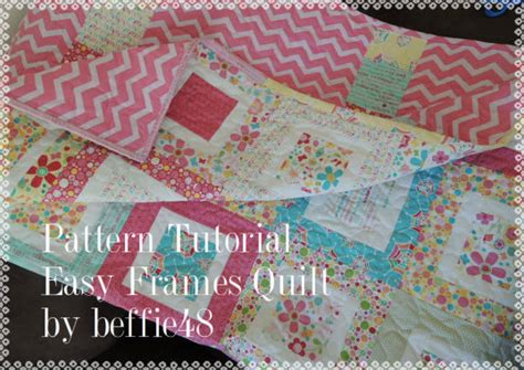 Charm Pack And Jelly Roll Quilt Patterns by Easy Frames Quilt Tutorial Use Charm Pack Jelly Roll Honey