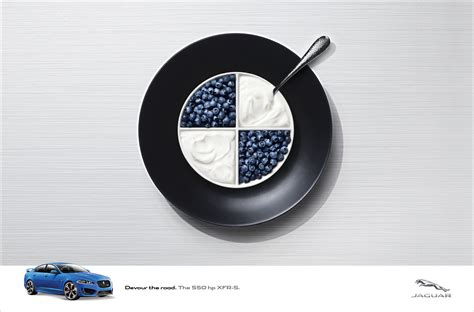 bmw ads jaguar says we re having bmw audi and mercedes for breakfast