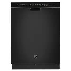 Kenmore Elite Dishwasher Doesn T Drain Kenmore Elite 14749 24 Quot Built In Dishwasher Black Shop
