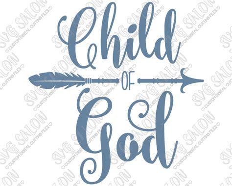 printable iron on light cricut child of god southern christian arrow custom diy iron on