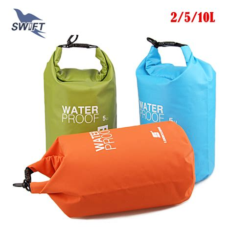 Bag Waterproof Ultralight 5 L 2l 5l 10l ultralight pvc waterproof swimming bag swimsuit bag snorkeling diving