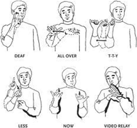 how to a deaf signals 22 best signing images on