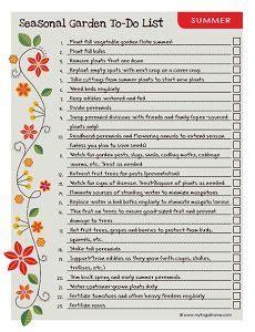 printable to do list landscape printable summer garden to do list