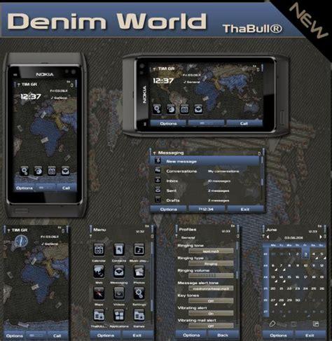 themes nokia symbian nokia symbian theme denim world per symbian anna e