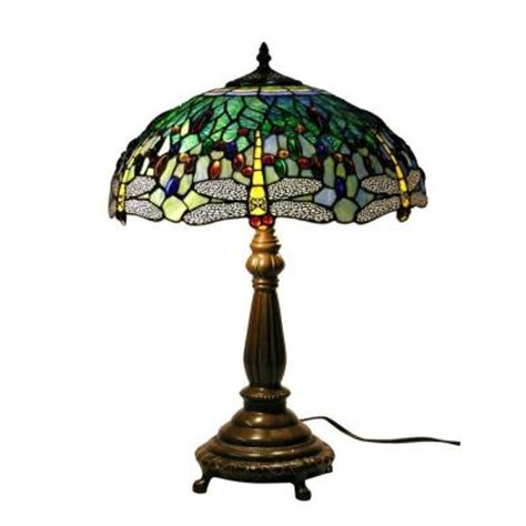 warehouse of tiffany table ls warehouse of tiffany 22 in antique bronze dragonfly