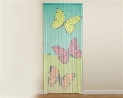 butterfly beaded door curtain buy bamboo door curtain butterfly from kleeneze your
