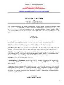farm partnership agreement template free sle llc operating agreement by kennwood llc