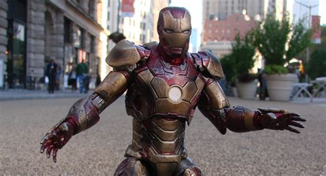 Marvel Select Iron 42 Battle Damaged new photos of disney exclusive marvel select iron and iron patriot the toyark news