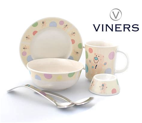 Breakfast Set Viners Buddy Breakfast Set With Personalised Baby
