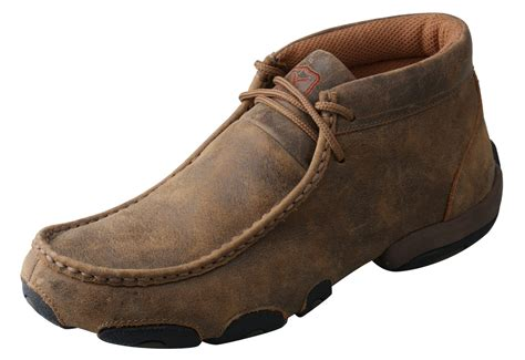 twisted x shoes for s twisted x shoes bomber driving moc wood s boots