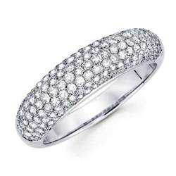 pave setting diamond anniversary ring photos slideshow