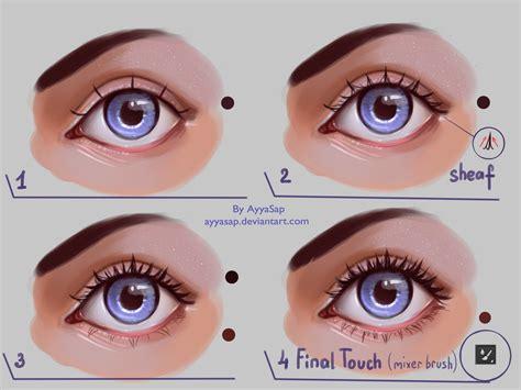 eyelashes tutorial by ayyasap on deviantart