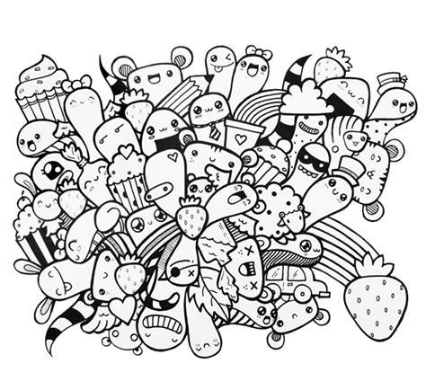 doodle simple keren cara membuat doodle mudah the chips