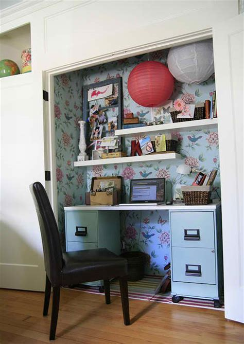 Home Office Closet 20 Small Home Office Design Ideas Decoholic