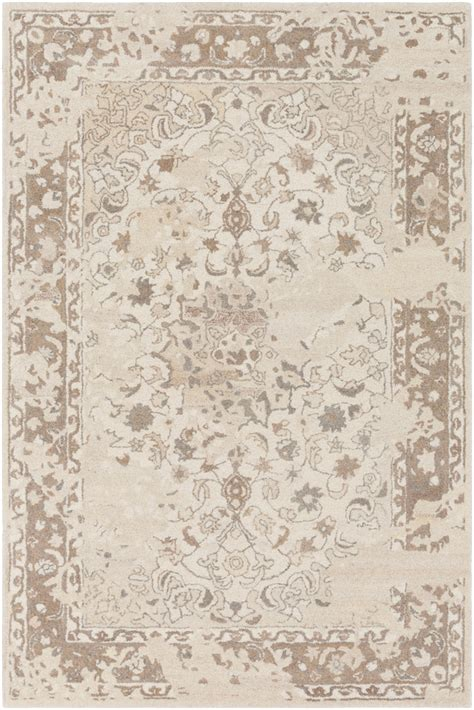 surya asheville ail 1009 neutral area rug rugsale