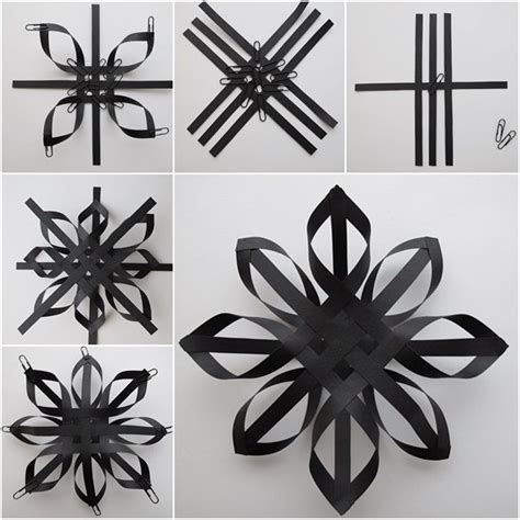 How To Make Large Paper Snowflakes - 25 best ideas about paper on origami