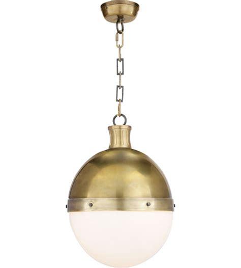 comfort lighting visual comfort thomas o brien hicks large pendant in hand