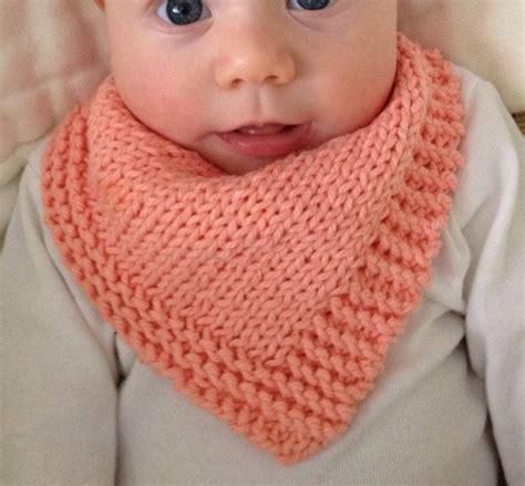 Bandana Knit knit bandana dribble bib solid bandana s handen
