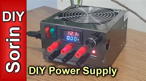 bench power supply diy diy lab bench power supply youtube