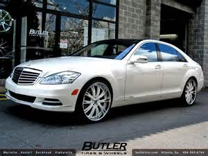 Mercedes With Rims Mercedes S550 With 22in Asanti Da177 Wheels A Photo On