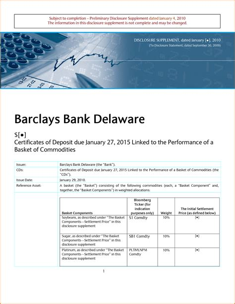 barclays bank statement template 8 bank statement template authorizationletters org