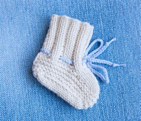 knitting booties for babies patterns free creations baby booties ugg free knitting pattern