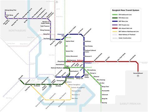 bts thailand метро бангкока bts и mrt новая карта как пользоваться