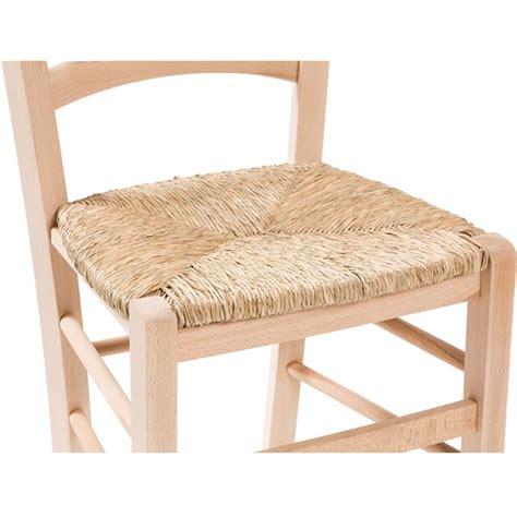 sedie con seduta in paglia sedia in legno massello di faggio grezzo con seduta in