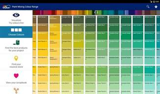 dulux interior gloss paint colour chart dulux visualizer android apps on google play with