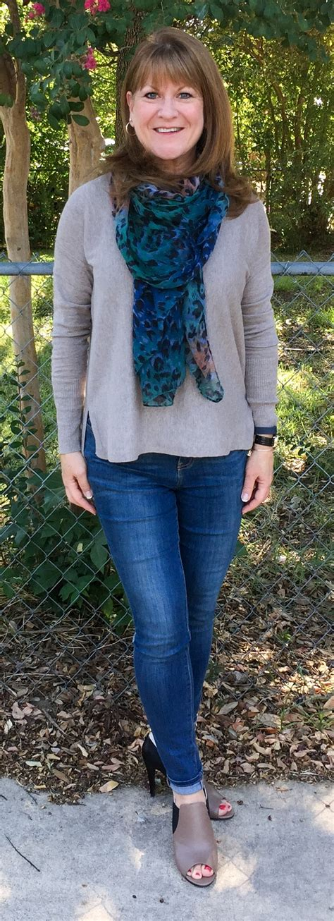 cute clothes for 60yr old skinny jeans over 50 style savvy dfw