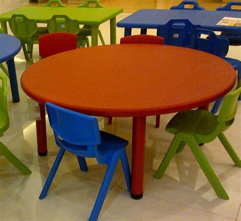 Kursi Besi Bulat meja plastic bulat besar mainan kayu