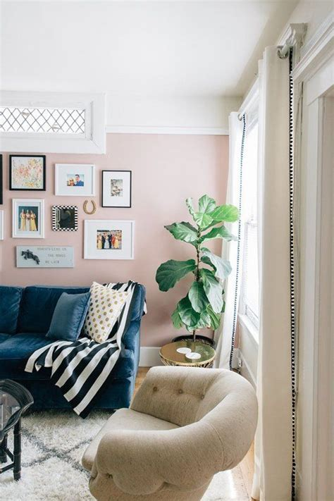 my pink life family room wall color pale pink living rooms successful style ideas to make